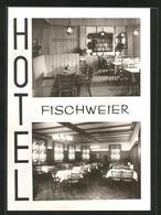 AK Fischweier / Albtal, Hotel-Restaurant Fischer, Innenansichten - Zonder Classificatie