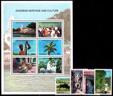 Tanzania 2005 Zanzibar Heritage And Culture Set Unmounted Mint. - Tanzania (1964-...)
