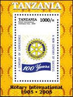 Tanzania 2005 Rotary International Souvenir Sheet Unmounted Mint. - Tanzania (1964-...)
