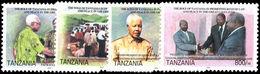 Tanzania 2004 Law And Peace Unmounted Mint. - Tanzania (1964-...)