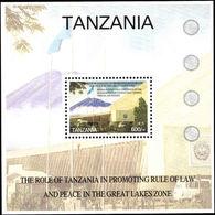 Tanzania 2004 Arusha International Conference Centre Souvenir Sheet Unmounted Mint. - Tanzania (1964-...)