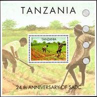 Tanzania 2004 Southern African Development Community Souvenir Sheet Unmounted Mint. - Tanzania (1964-...)