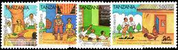 Tanzania 2004 Childrens Rights Unmounted Mint. - Tanzania (1964-...)