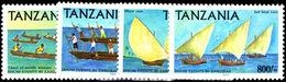 Tanzania 2004 Dhow Events In Zanzibar Unmounted Mint. - Tanzania (1964-...)