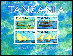Tanzania 2004 Dhow Events In Zanzibar Sheetlet Unmounted Mint. - Tanzania (1964-...)