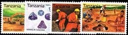 Tanzania 2004 Mining Unmounted Mint. - Tanzania (1964-...)