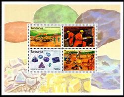 Tanzania 2004 Mining Sheetlet Unmounted Mint. - Tanzania (1964-...)