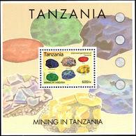 Tanzania 2004 Mining Souvenir Sheet Unmounted Mint. - Tanzania (1964-...)