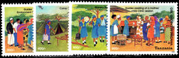Tanzania 2004 Girl Guides Unmounted Mint. - Tanzania (1964-...)
