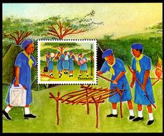 Tanzania 2004 Girl Guides Souvenir Sheet Unmounted Mint. - Tanzania (1964-...)