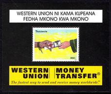 Tanzania 2004 Western Union Souvenir Sheet Unmounted Mint. - Tanzania (1964-...)