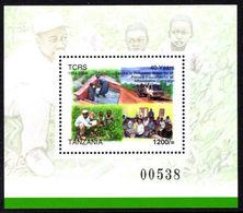 Tanzania 2004 Christian Refuge Souvenir Sheet Unmounted Mint. - Tanzania (1964-...)