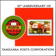 Tanzania 2004 Posts Corporation Souvenir Sheet Unmounted Mint. - Tanzania (1964-...)