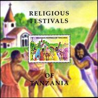 Tanzania 2003 Religious Festivals Souvenir Sheet Unmounted Mint. - Tanzania (1964-...)