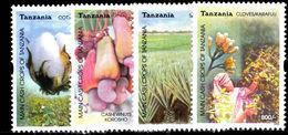Tanzania 2003 Cash Crops Unmounted Mint. - Tanzania (1964-...)
