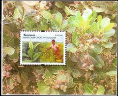 Tanzania 2003 Cash Crops Souvenir Sheet Unmounted Mint. - Tanzania (1964-...)
