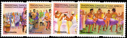 Tanzania 2003 Traditional Dances Unmounted Mint. - Tanzania (1964-...)