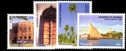 Tanzania 2003 Scenes Of Zanzibar Unmounted Mint. - Tanzania (1964-...)