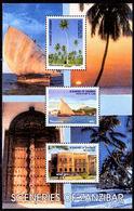 Tanzania 2003 Scenes Of Zanzibar Souvenir Sheet Unmounted Mint. - Tanzania (1964-...)