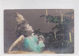 NIÑO GARÇON BOY DISFRAZ COSTUME ANGEL COLORISE CIRCULEE BUENOS AIRES CIRCA 1908- BLEUP - Fotografie