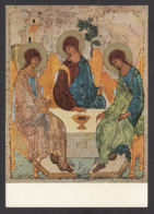 95545/ ICONE, *Icône De La Trinité*, Andrej Rublev, Moscou, Galerie Tretiakov - Schilderijen, Gebrandschilderd Glas En Beeldjes