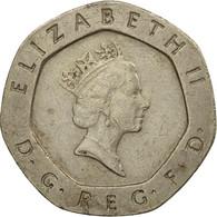 Monnaie, Grande-Bretagne, Elizabeth II, 20 Pence, 1987, TB+, Copper-nickel - 1971-… : Monnaies Décimales