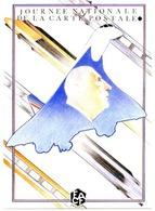Illustrateur AR ROUÉ - Journée Nationale De La Carte Postale 1990 - FACF - THÈMES : DE GAULLE, Concorde, TGV - Andere Illustrators