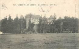 """/ CPA FRANCE 58 """"Chitry Les Mines, Le Château"""" - Autres Communes"""