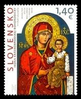 Slovakia 2018 Mih. 855 Mother Of God. Icon Of Krasny Brod MNH ** - Nuevos