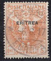 ERITREA - Yvert 43 Obliterato. - Eritrea