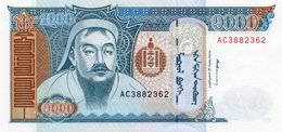 MONGOLIA= 1997   1000  TUGRIK    P-59     UNC - Mongolie