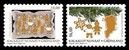 Greenland 2018 Mih. 809/10 Christmas (self-adhesive) MNH ** - Groenland