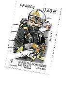 Bicentenaire De La Brigade Des Sapeurs Pompiers 4583 Oblitéré 2011 - France