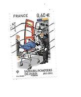 Bicentenaire De La Brigade Des Sapeurs Pompiers 4584 Oblitéré 2011 - France