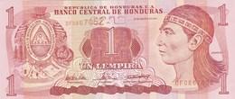 Honduras - Billet De 1 Lempira - 26 Août 2004 - Lempira - Neuf - Honduras