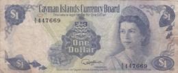 Iles Cayman - Billet De 1 Dollar - Elizabeth II - 1974 - Iles Cayman