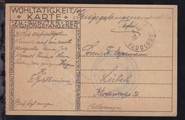 Ca. 1919 Lager Avignon/Frankreich Kriegsfenangenen-Weihnachtskarte  - Allemagne