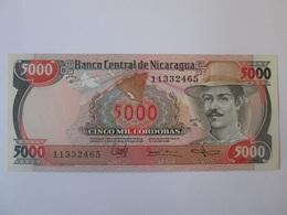 Nicaragua 5000 Cordobas 1985 Banknote UNC - Nicaragua