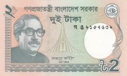 Bangladesh - Billet De 2 Taka - M. Rahman - 2013 - Neuf - Bangladesh
