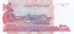 Cambodge - Billet De 500 Riels - 2004 - Neuf - Cambodge