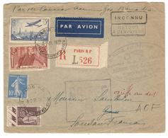 9105 - ALGER GAO BAMAKO - Eerste Vluchten
