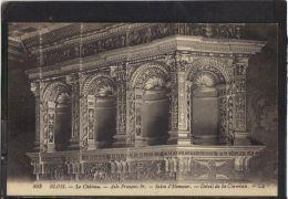 41134 . BLOIS. LE CHATEAU. ALLE FRANCOIS 1er . SALON D HONNEUR. DETAIL DE LA CHEMINEE . LL . (recto/verso) ANNEE  1928 - Blois