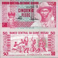 Guinea Bissau 1990 - 50 Pesos - Pick 10 UNC - Guinea-Bissau