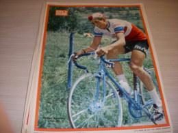 MIROIR Du CYCLISME ENCART MC079 Gerben KARSTENS TELEVIZIER 1966 - Sport
