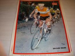 MIROIR Du CYCLISME ENCART MC098 JC THEILLERE STABLINSKI BIC B GUYOT PELFORTH - Sport