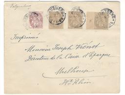 9109 - Cad Allemand Sur TP De France - Marcophilie (Lettres)