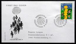 Denmark 2000    EUROPA / CEPT MiNr.1252  FDC  ( Lot  6480 )FOGHS COVER - FDC