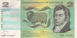 Australie - Billet De 2 Dollars - Mac Arthur & Farrer - Emissions Gouvernementales Décimales 1966-...