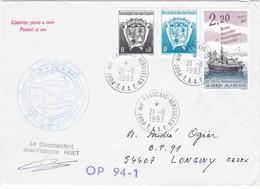 TAAF210 - Port Aux Français 21 Novembre 1993 - Französische Süd- Und Antarktisgebiete (TAAF)
