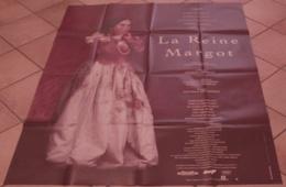 AFFICHE CINEMA ORIGINALE FILM LA REINE MARGOT Patrice CHEREAU Isabelle ADJANI AUTEUIL ANGLADE 1994 TBE - Manifesti & Poster
